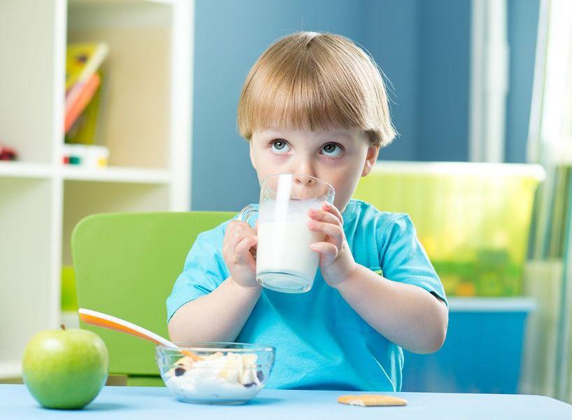 Il latte fermentato nell'alimentazione dei bambini sani