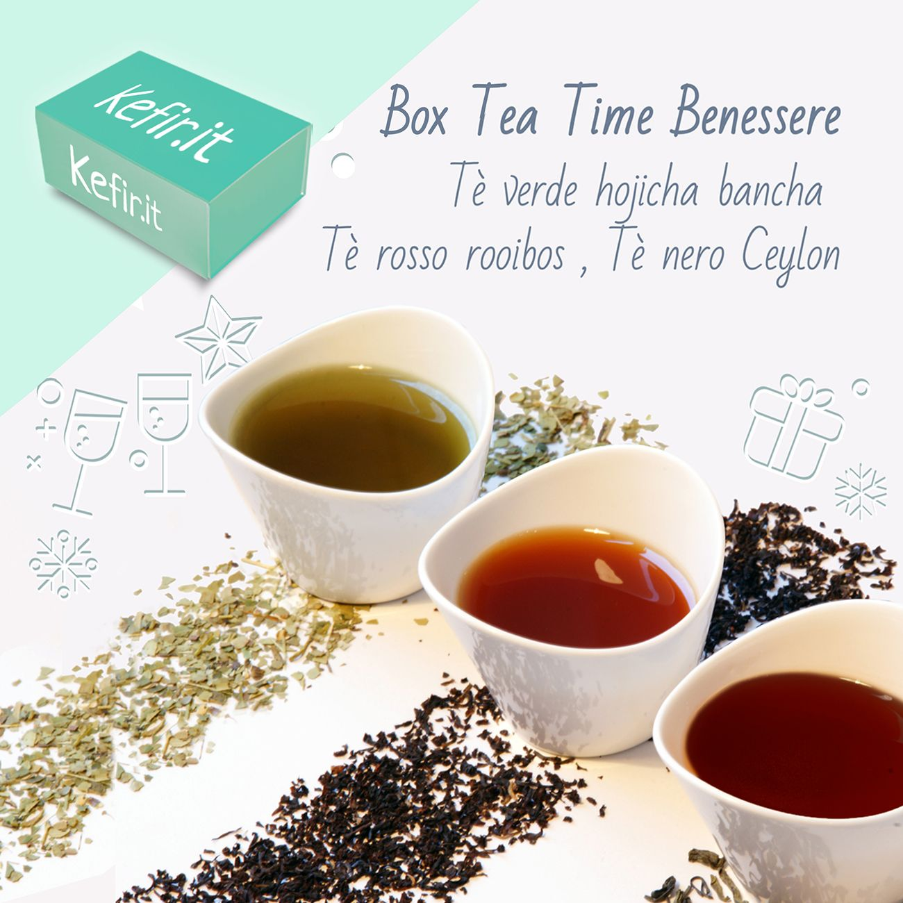 BOX TEA TIME BENESSERE