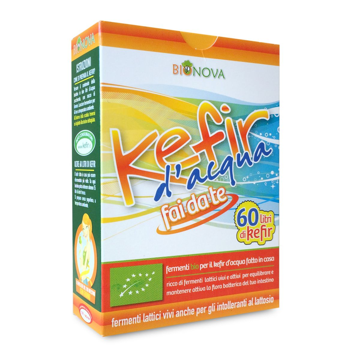 Fermenti Bio Kefir d'Acqua