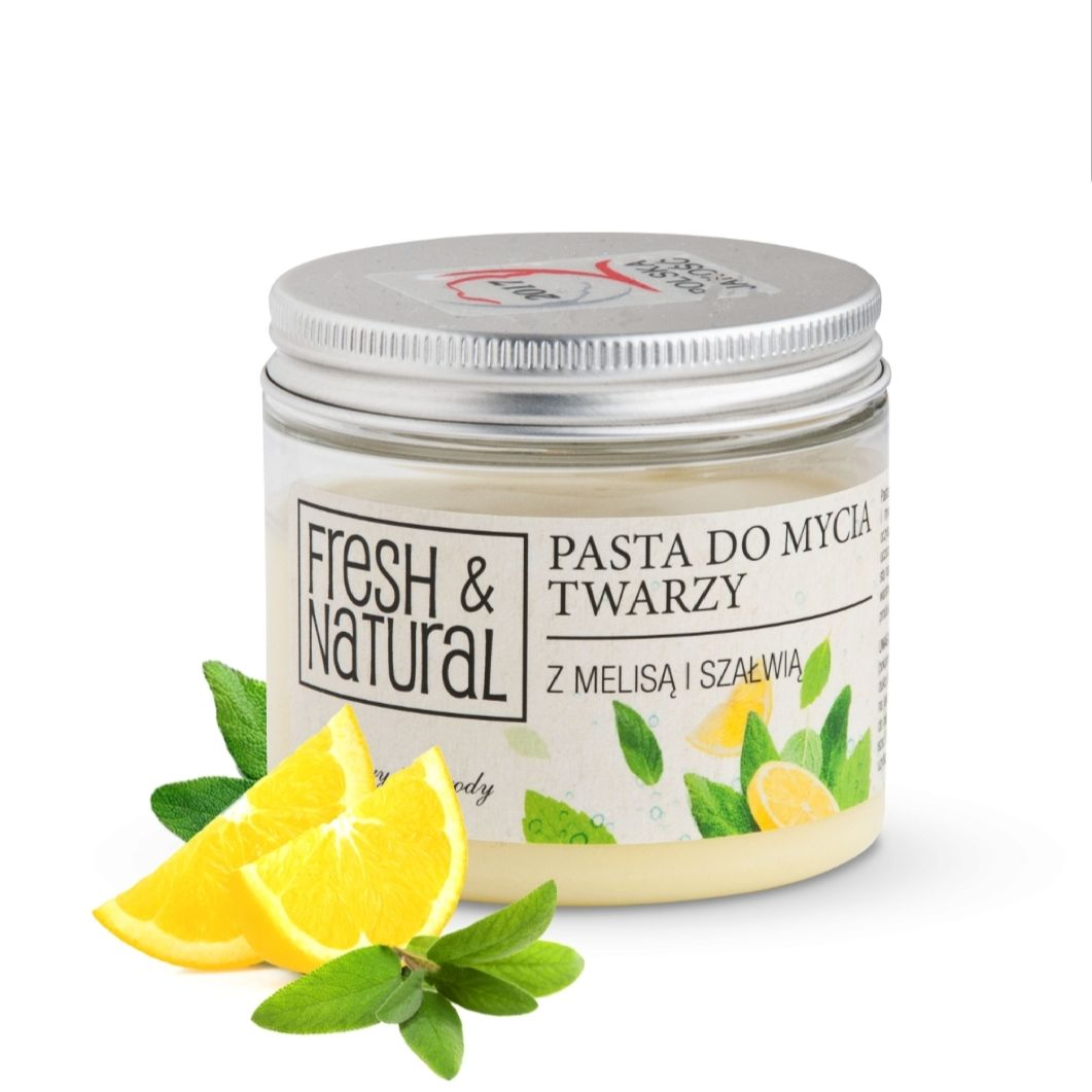 Fresh & Natural - Pasta detergente viso
