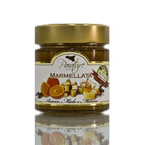 Marmellata arance, miele e manna