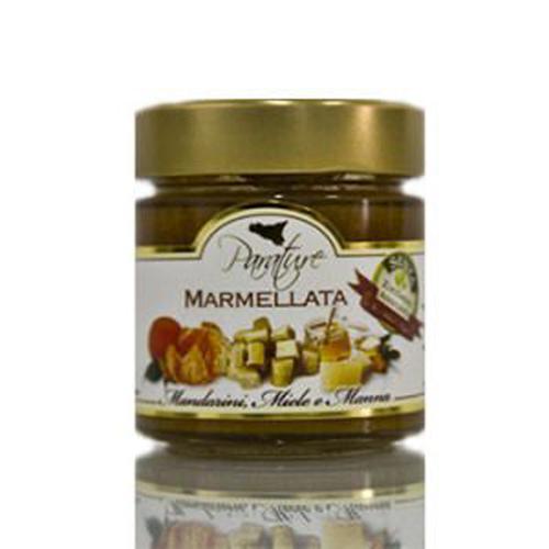 Marmellata mandarini, miele e manna