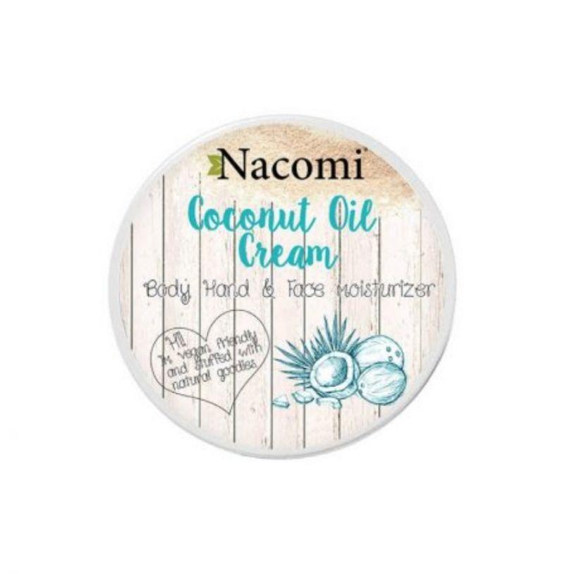 Nacomi - Crema viso, mani, corpo al cocco