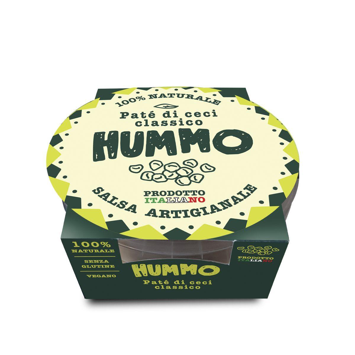 Patè di Ceci-Humus classico da 130g