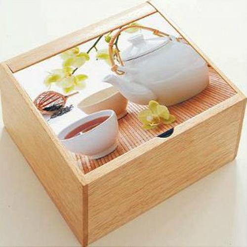Scatola tè in Legno