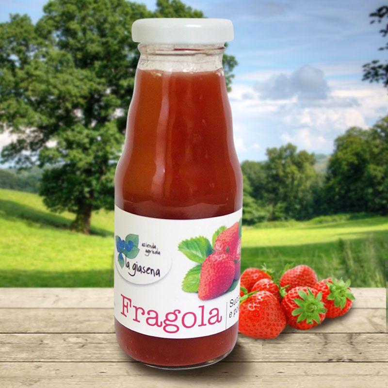 Succo alla polpa di fragole