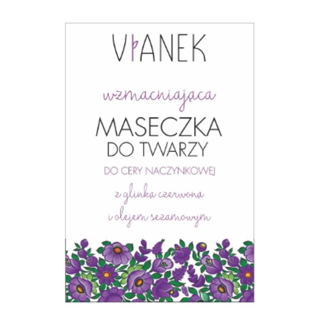 Vianek - Maschera viso monouso rinforzante