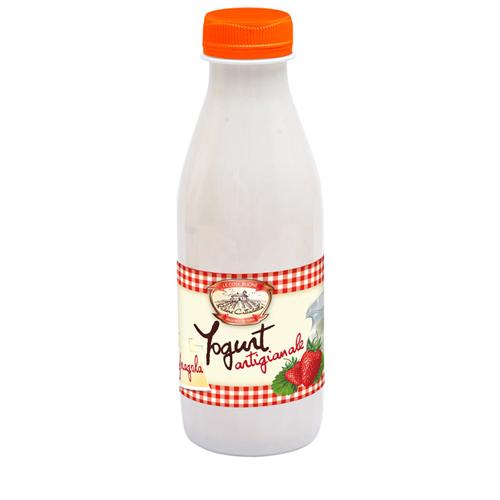 Yogurt alla Fragola 250g - 10 pz