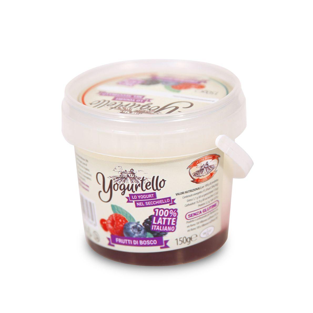 Yogurtello ai Frutti di Bosco 150g - 9 pz