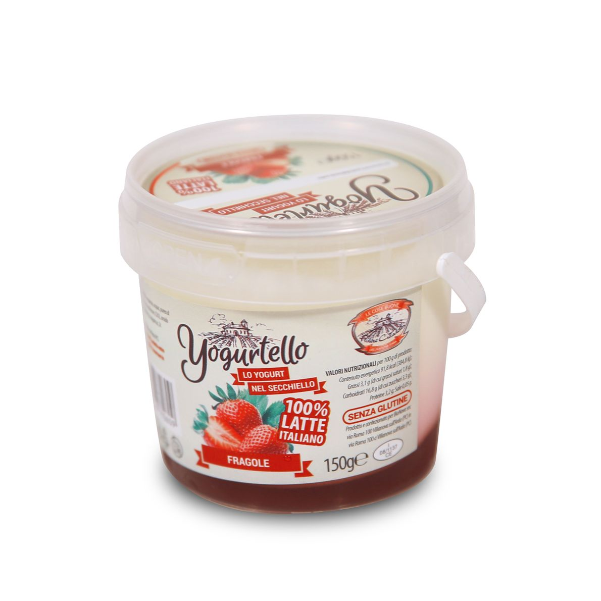 Yogurtello alla Fragola 150g