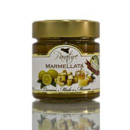 Marmellata limoni, miele e manna