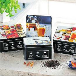 Scatola Tè in Metallo