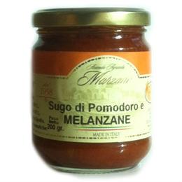 Sugo di pomodoro e melanzane