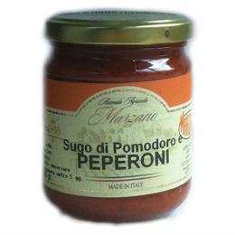Sugo di pomodoro e peperoni