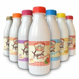 Yogurt Cremoso di gusti assortiti 500g - 10 pz